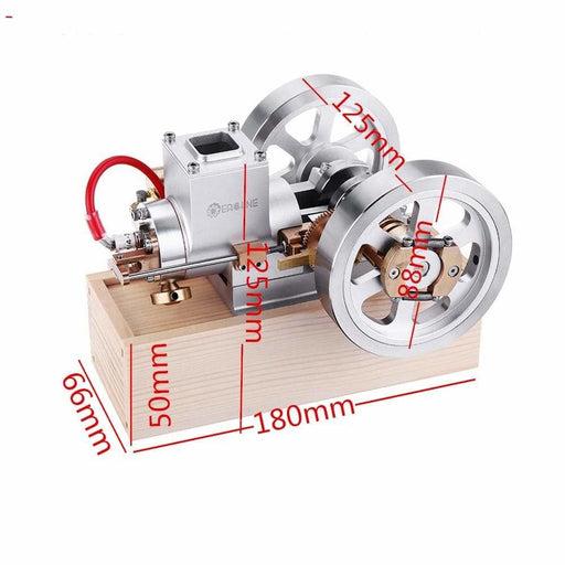 Hit & Miss Gas Engine Stirling Engine Model Combustion
