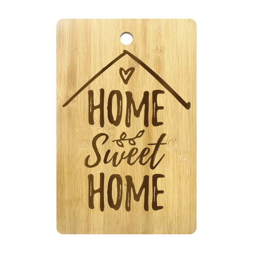 Home Sweet Home Custom Cutting Board Personalized Cheese Block Laser Engraved Charcuterie Board New Home Housewarming Party Gift