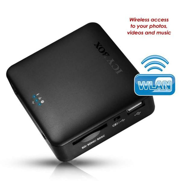 Icy Box 4 in 1 Wlan Storage Station (ib-wrp201sd) -