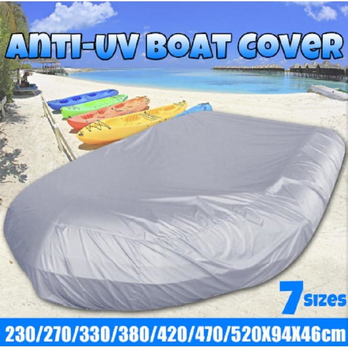 Waterproof UV Sun Dust Protection Inflatable Boat Dinghy