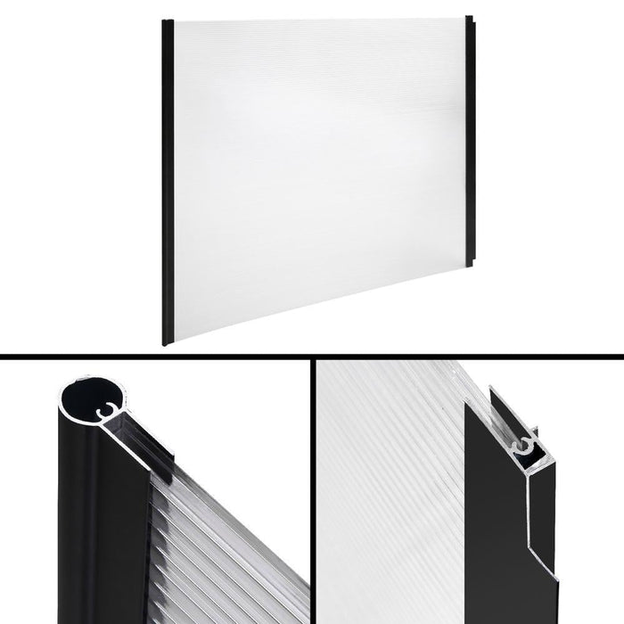 Instahut 1X1.2M Window Door Awning Canopy Rain Cover Sun Shield goslash fast delivery fast delivery