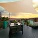 Instahut 4x5m Shade Sail Sun Shadecloth Canopy 280gsm Sand -