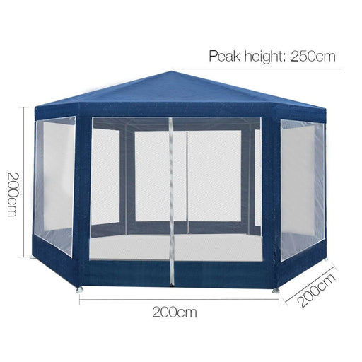 Instahut Gazebo Wedding Party Marquee Tent Canopy Outdoor