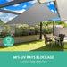 Instahut Sun Shade Sail Cloth Shadecloth Outdoor Canopy