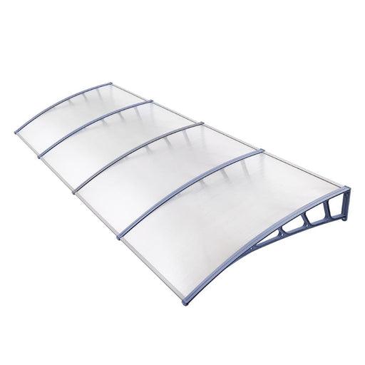 Instahut Window Door Awning Door Canopy Outdoor Patio Sun Shield 1.5mx4m DIY