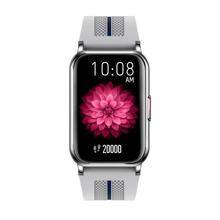 IP68 Long Standby Fitness H76 Smart Watch Silver