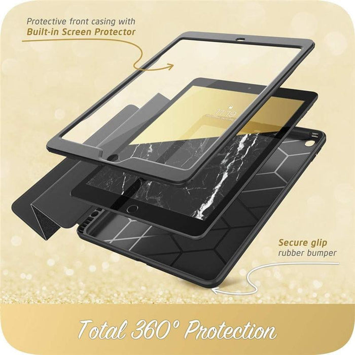 For Ipad 10.2 Case Cosmo Trifold Stand Smart Case with Auto Sleep/wake & Pencil