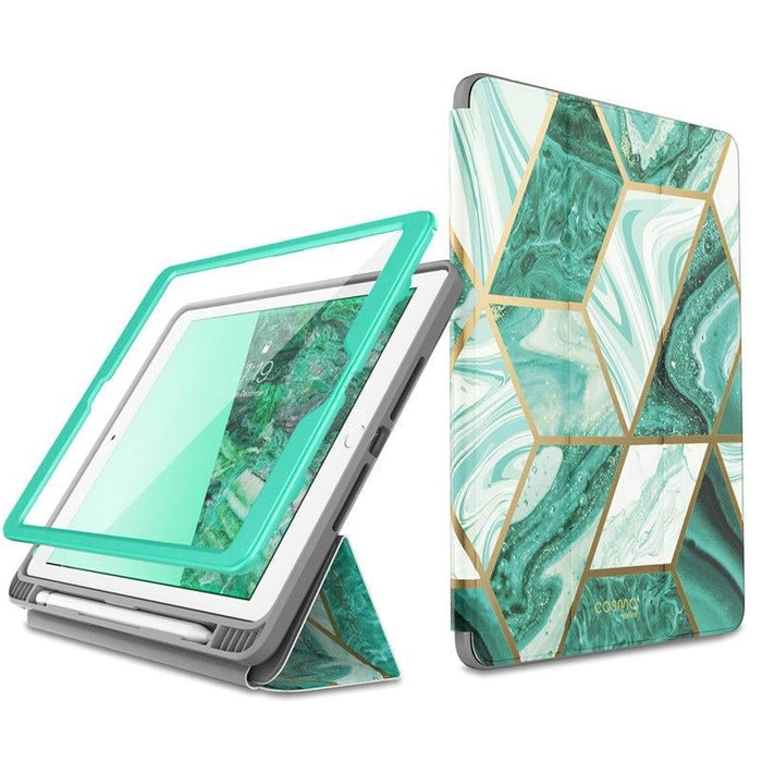 For Ipad 9.7 Case (2018/2017) Cosmo Trifold Stand Case with