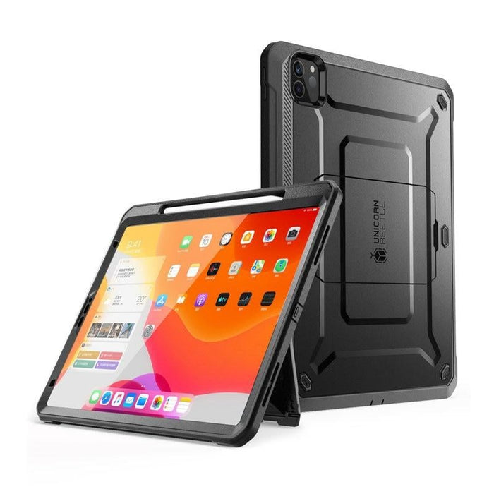 For Ipad Pro 12.9 (2020) Case W/ Apple Pencil Charging with Built-in Screen