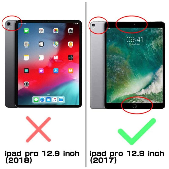 For Ipad Pro 2017 Rugged Case with Built-in Screen Protector