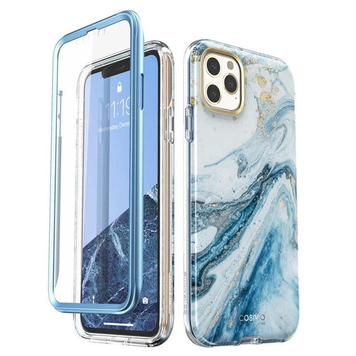 """For Iphone 11 Pro Case 5.8"""" (2019) Cosmo Full-body Shinning Glitter Marble"""