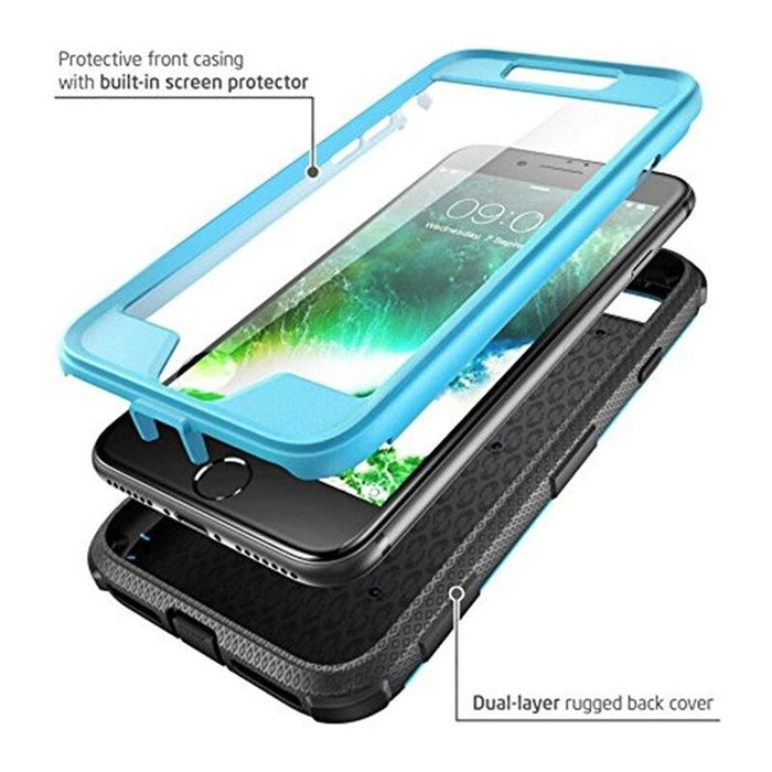 For Iphone 7 8 Se 2020 Case Armorbox full Body Heavy Duty Shock Reduction Bumper