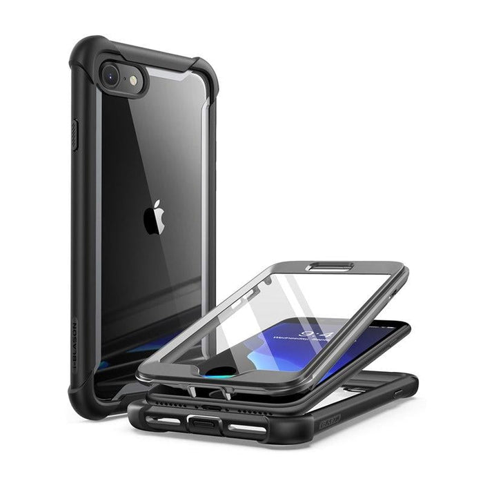 For Iphone Se 2020 Case for Iphone 7 8 Case Ares Full-body Rugged Clear Bumper