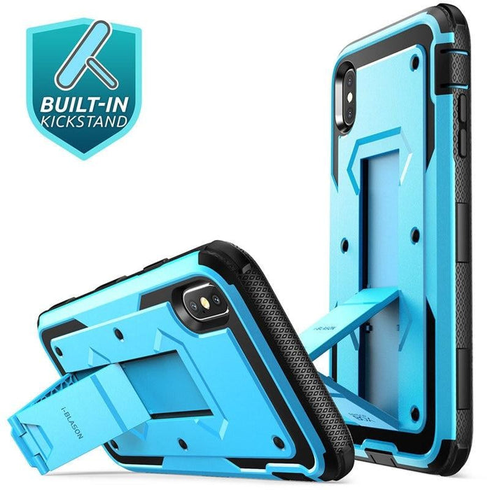 For Iphone Xs Max Case Armorbox full Body Heavy Duty Shock Reduction Case with