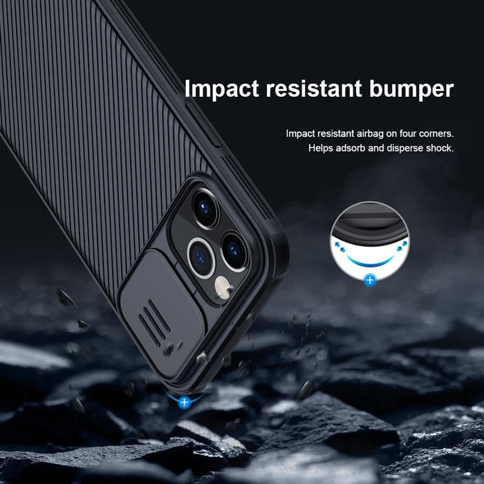 Camera Protection Case For iphone 12 Pro Max Cover iphone 12 Max NILLKIN Camshield Pro Slide Cover Protect Lens Case iphone12
