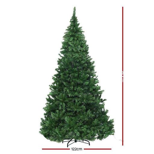 Jingle Jollys 1.8m 6ft Christmas Tree Xmas 1980 Led Lights