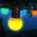 Jingle Jollys 23m Led Festoon String Lights 20 Bulbs Kits