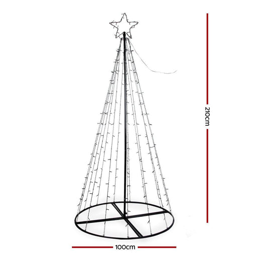 Jingle Jollys 3m Led Christmas Tree Lights Xmas 330pc Led