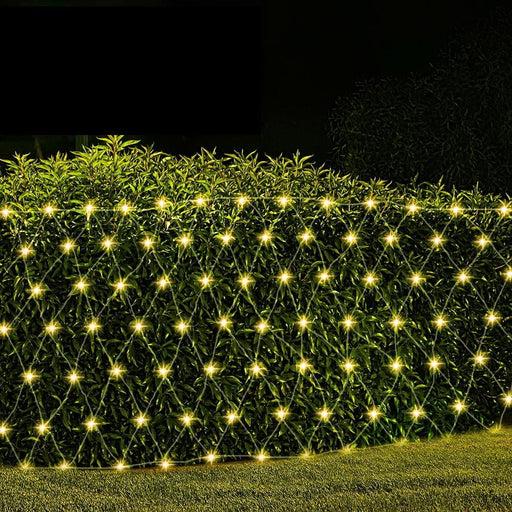 Jingle Jollys 4mx6m Christmas Net Mesh Lights 1000led String
