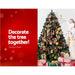 Jingle Jollys 7ft Christmas Snow Tree - Occasions >