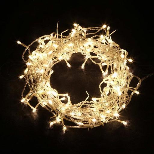 Jingle Jollys 800 Led Christmas Icicle Lights Warm White -
