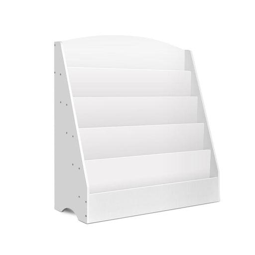 Keezi 5 Tiers Kids Bookshelf Magazine Rack Shelf Organiser Bookcase Display