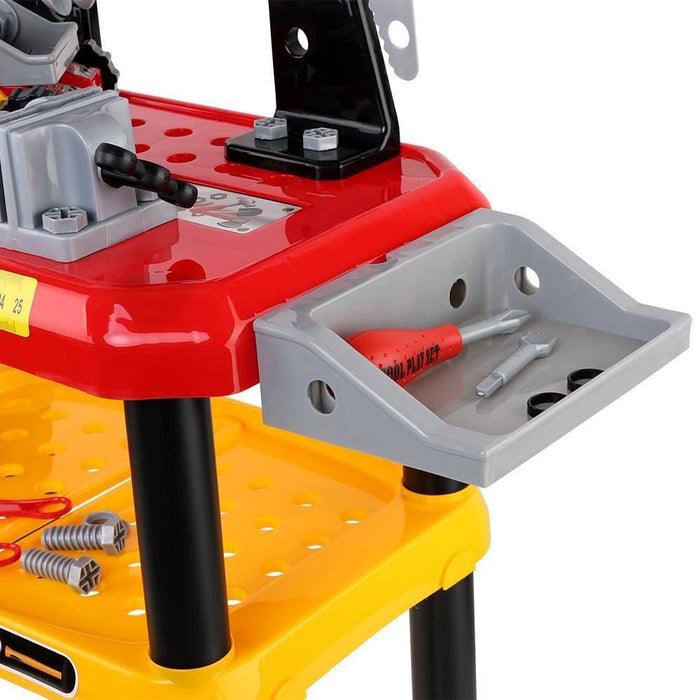 Keezi Kids Workbench Play Set - Red goslash fast delivery fast delivery