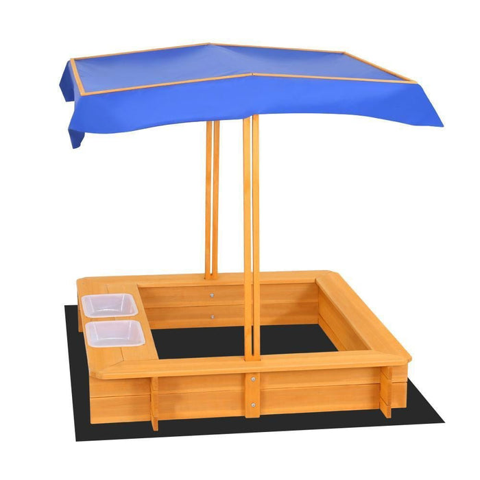 Keezi Outdoor Canopy Sand Pit goslash fast delivery fast delivery