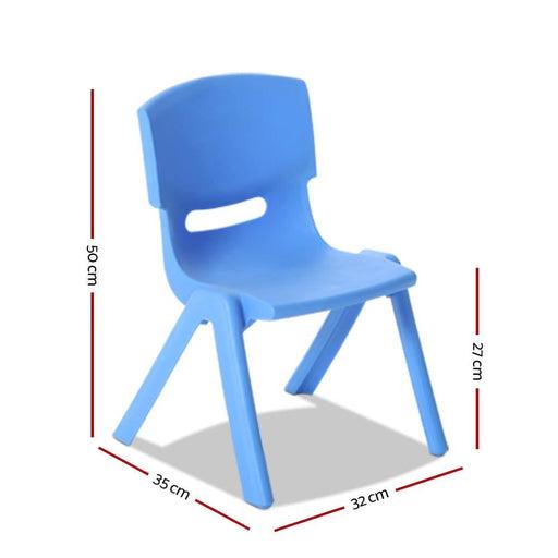 Keezi Set of 4 Kids Play Chairs - Baby & Kids > Kids