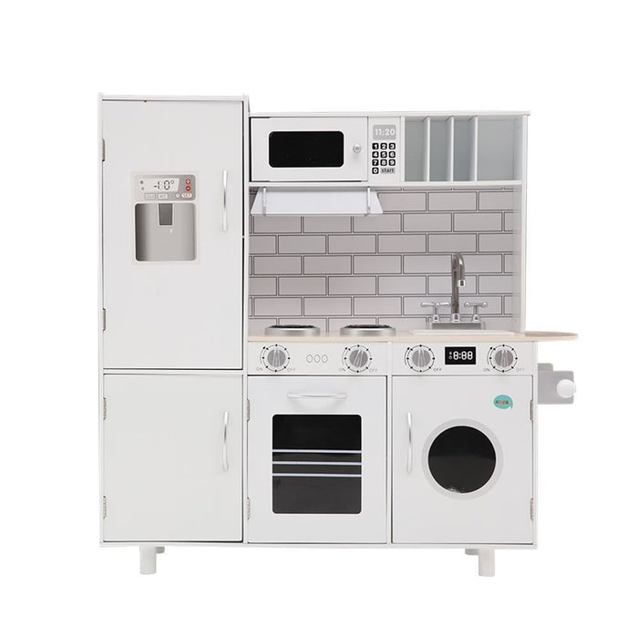 Keezi Wooden Kitchen Pretend Play Set goslash fast delivery fast delivery