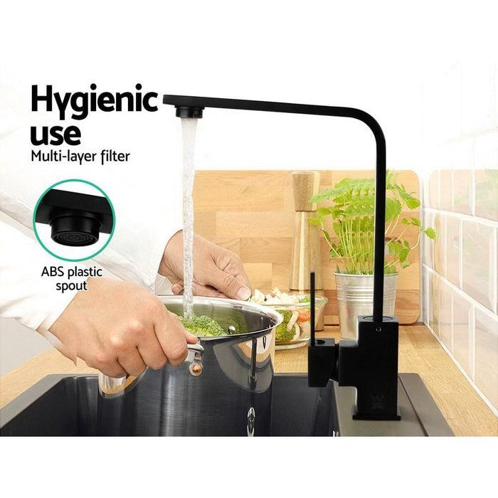 Kitchen Mixer Tap -black - Home & Garden > DIY