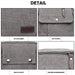 E1971 - KONO MULTI POCKET CROSS BODY SHOULDER BAG - GREY