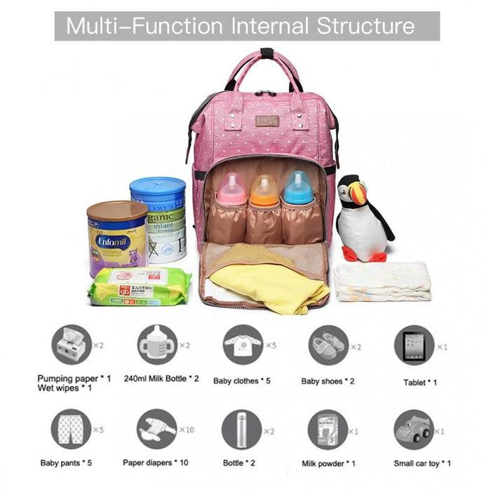 E6705D2 - Kono Wide Open Designed Baby Diaper Changing