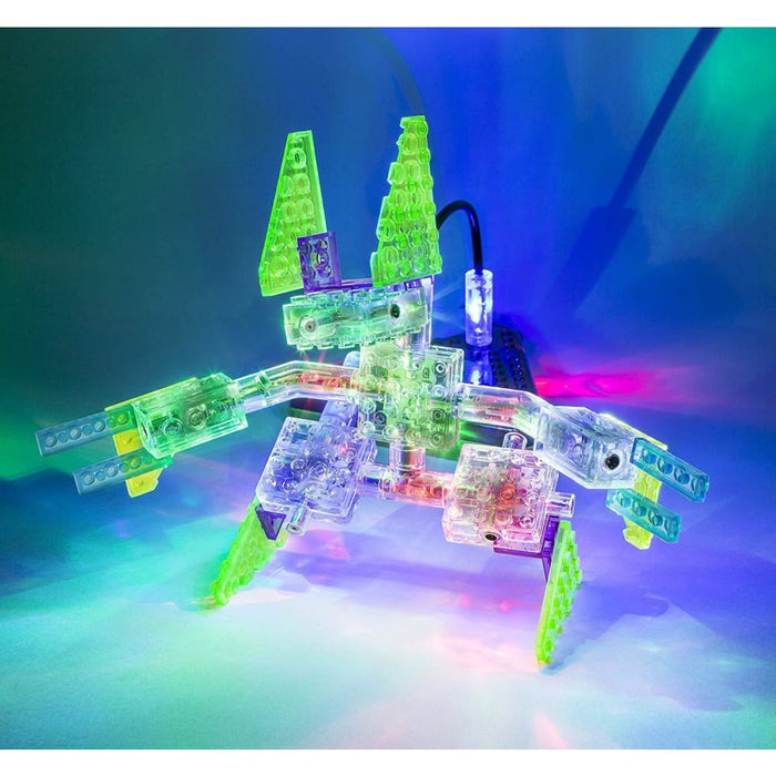 Laser Pegs 16-in-1 Space Fighter Building Set goslash fast delivery fast delivery