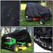 Lawn Mower Cover Waterproof Snowblower Cover Shade UV