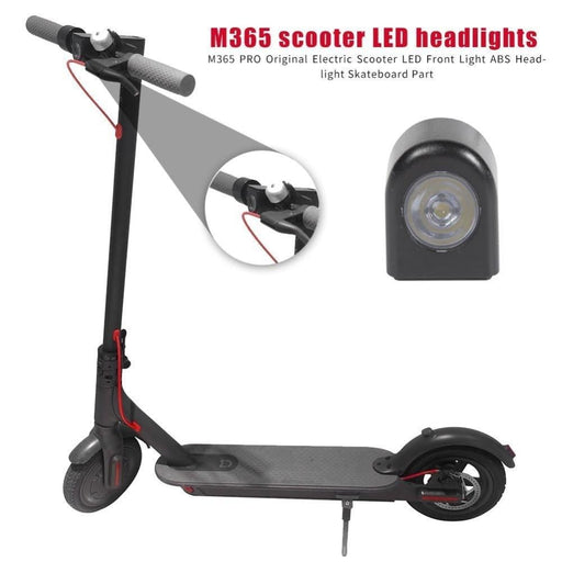 LED Front Light Spotlight Electric Scooter Headlights Handlebar Lamp For Xiaomi Mijia M365 Electric Scooter Parts