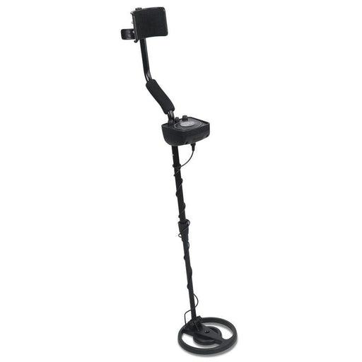 LED Metal Detector with Headphones - Black