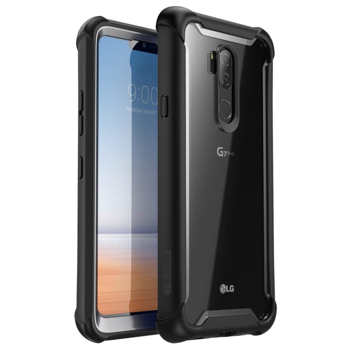 For Lg G7 Case 6.1 Inch Ares Full-body Rugged Clear Bumper