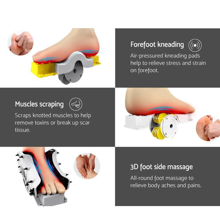 Livemor Foot Massager Black goslash fast delivery fast delivery