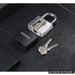 NAIERDI Locksmith Hand Tools Supplies Lock Pick Set Transparent Visible Practice Padlock With Broken Key Removing Hooks Hardware