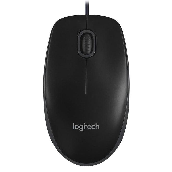 Logitech B100 Optical Usb Mouse (910-001439) - Electronics >
