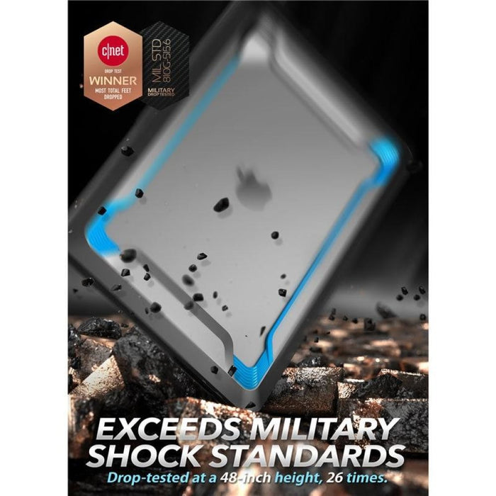 For Macbook Pro 16 Case (2019) Rugged Shockproof Cover with Tpu Bumper for