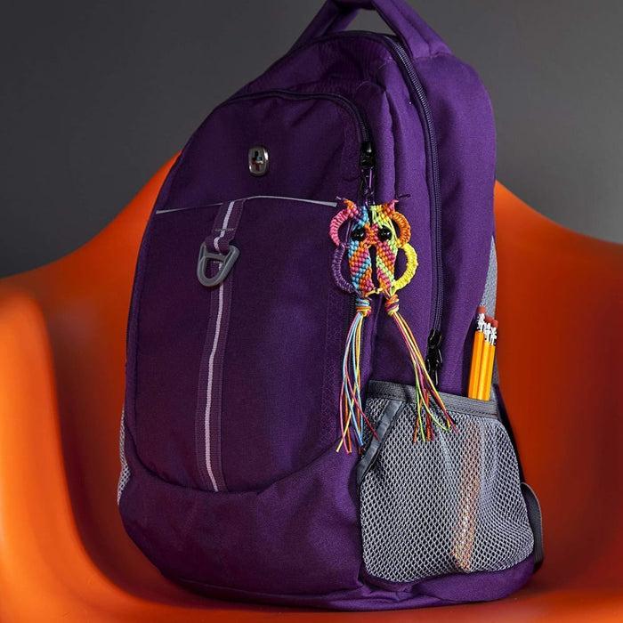 Macrame Owl Backpack Charm Kit goslash fast delivery fast delivery