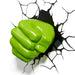 Marvel Avengers Hulk Fist 3D Deco Light goslash fast delivery fast delivery
