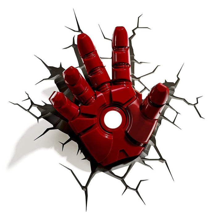 Marvel Avengers Iron Man Hand 3D Deco Light goslash fast delivery fast delivery