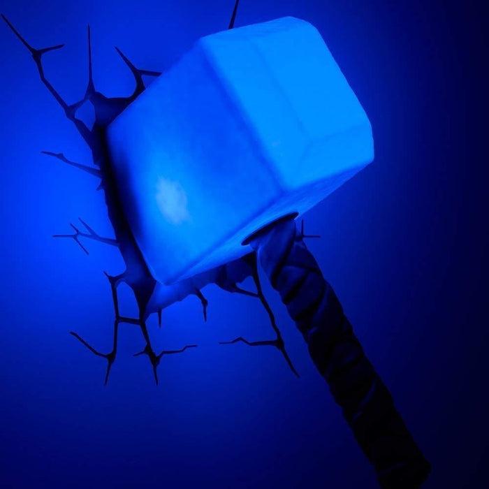 Marvel Thor's Hammer 3D Deco Light goslash fast delivery fast delivery