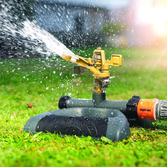 Metal Impact Sprinkler With Weighted Metal Base goslash fast delivery fast delivery