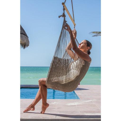 Mexican Hammock Swing Chari in Dream Sands - Home & Garden >