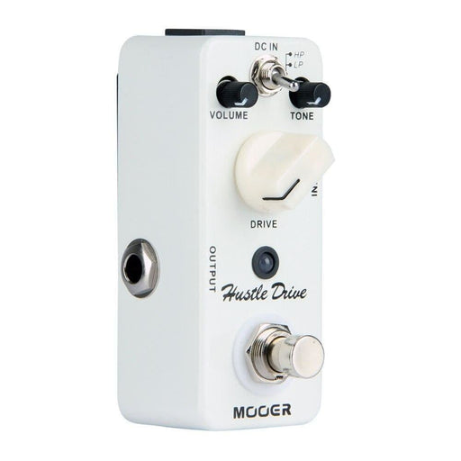 MOOER Micro Hustle Drive Guitar Effect Pedall Tube-like Drive Compact Guitar Pedal 2 Working Modes True Bypass Full Metal Shell