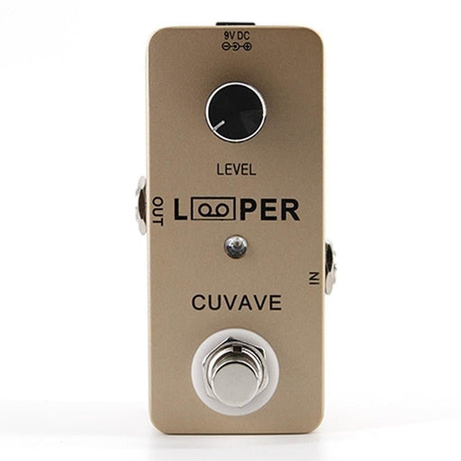 Mini Looper Electric Guitar Effect Pedal Full Metal Shell Max 5 Minutes Recording Time One Footswitch Control Guitar Accessories